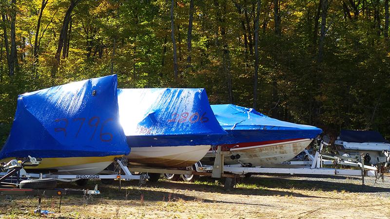 Shrink Wrap Boat Storage - Huntsville Marine Muskoka
